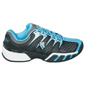 K-Swiss Bigshot II Ladies Black/FijiBlue/White