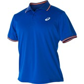 Asics Club Short Sleeve Polo - Air Force Blue