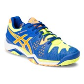 Asics Gel-Resolution 6 Men Blue/Nectarine/Flash Yellow