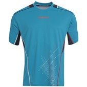 Babolat Mens Match Performance Tee - Blue