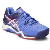 Asics Gel-Resolution 6 Women Powder Blue/White/Hibiscus