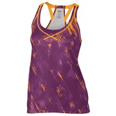 Wilson Ladies SP Painted Print Mesh BF Tank - Dark Plumberry