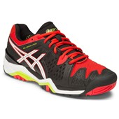 Asics Gel-Resolution 6 Men Black/White/Orange