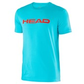 Head Boys Transition Ivan T-Shirt - Aqua/Flame