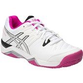 Asics Gel-Challenger 10 Clay Women White/Pink Glow/Black