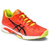 Asics Gel-Solution Speed 3 Men Orange/Black/Lime