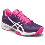 Asics Gel-Solution Speed 3 Women Clay Purple/White/Pink