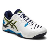 Asics Gel-Challenger 10 Clay White/Lime/Indigo Blue