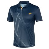 Lotto Mens Blast Polo - Dark Blue/Pearl