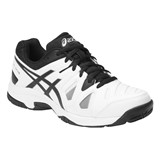 Asics Gel-Game 5 GS - White/Black/Silver