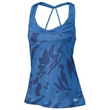 Wilson Ladies SP Art Athletic Tank - Regatta/Marlin