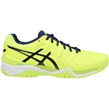 Asics Gel-Resolution 7 Men Safety Yellow/Indigo Blue/White