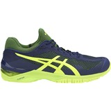 Asics FF Court Indigo Blue/Safety Yellow