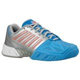 K-Swiss Ladies Bigshot Light 3 - Silver/Blue/Coral