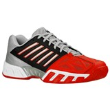 K-Swiss Mens Bigshot Light 3 - Red/Black/Silver