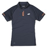 Lotto Mens Dragon Tech Polo - Navy