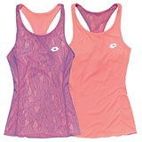 Lotto Ladies Twice II Tank+Bra - Violet/Rose