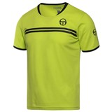 Sergio Tacchini Boys Spokes Tee - Lime/Black