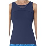 Asics Athlete Tank - Indigo Blue