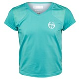 Sergio Tacchini Girls Wave T-Shirt - Ceramic/White