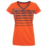 Tecnifibre Girls F2 AirMesh 360 Tee - Orange