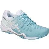 Asics Gel-Resolution 7 Women Porcelain Blue/Silver/White