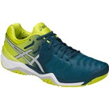 Asics Gel-Resolution 7 Men Ink Blue/Sulphur Spring/White