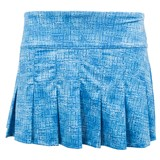 "EleVen Flutter Skirt 14"" - Blue Tribal"
