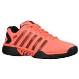 K-Swiss Mens Hypercourt Express - Neon Blaze/White/Black