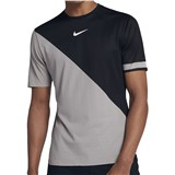 NikeCourt Zonal Cooling Challenger Top - Black/Grey