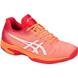 Asics Solution Speed FF Clay Women - Mojave/White