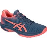 Asics Solution Speed FF Clay Women - Blue/Papaya