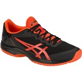 Asics Gel-Court Speed Clay Mens Black/Red