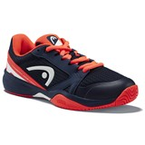 Head Sprint 2.5 Junior - Dark Blue/Neon Red