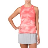 Asics Club Graphic Tank Top - Papaya