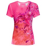 BidiBadu Girls Sunny Tech Roundneck Tee - Pink/Red