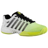 K-Swiss Mens Hypercourt Express HB - White/Fluro