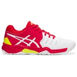 Asics Gel-Resolution 7 GS Girls White/Laser Pink