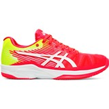 Asics Solution Speed FF Clay Women - Laser Pink/White