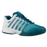 K-Swiss Mens Hypercourt Express - White/Turquoise