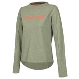 Babolat Ladies Core Sweatshirt - Grey/Highrise