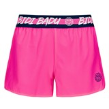 BidiBadu Girls Grey Tech Short (2 in 1) - Pink/Dark Blue