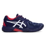 Asics Gel-Resolution 8 GS Boys - Peacoat/White