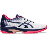 Asics Gel-Solution Speed FF Clay Women - White/Peacoat
