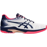 Asics Gel-Solution Speed FF Hardcourt Women - White/Peacoat