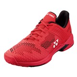 Yonex Mens Sonicage 2 Clay - Red
