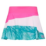 BidiBadu Girls Zina Tech Skort - Pink/White/Mint