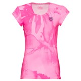 BidiBadu Girls Leotie Tech Roundneck Tee - Pink