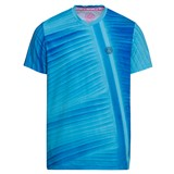 BidiBadu Boys Raik Tech V-Neck Tee - Aqua/Dark Blue