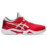 Asics Court FF 2 Novak Clay - Red/White